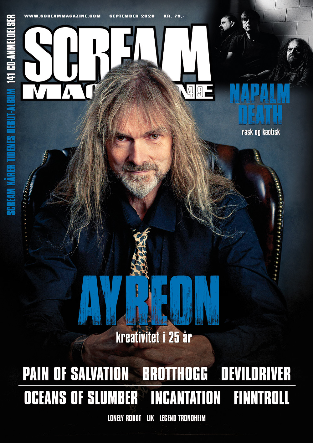 Scream Magazine #249