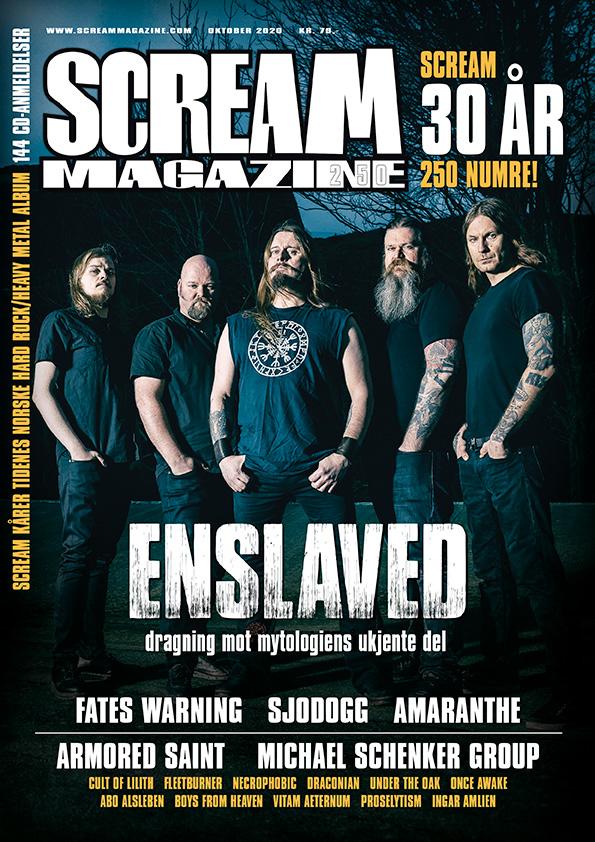 Scream Magazine #250