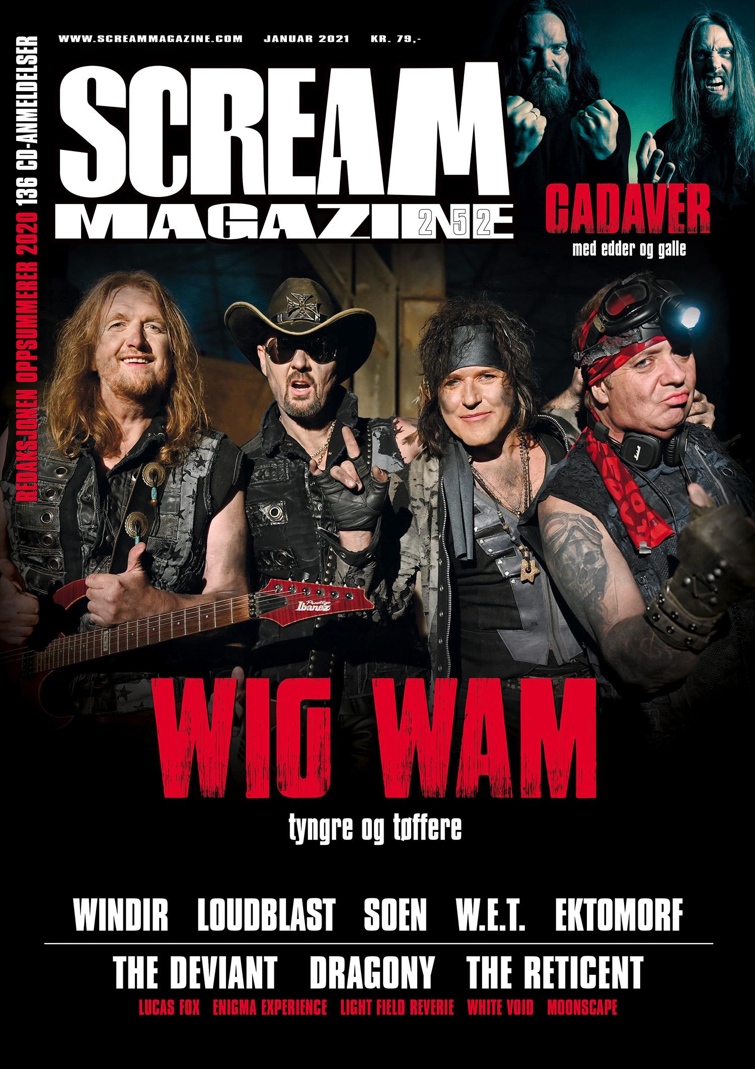 Scream Magazine #252