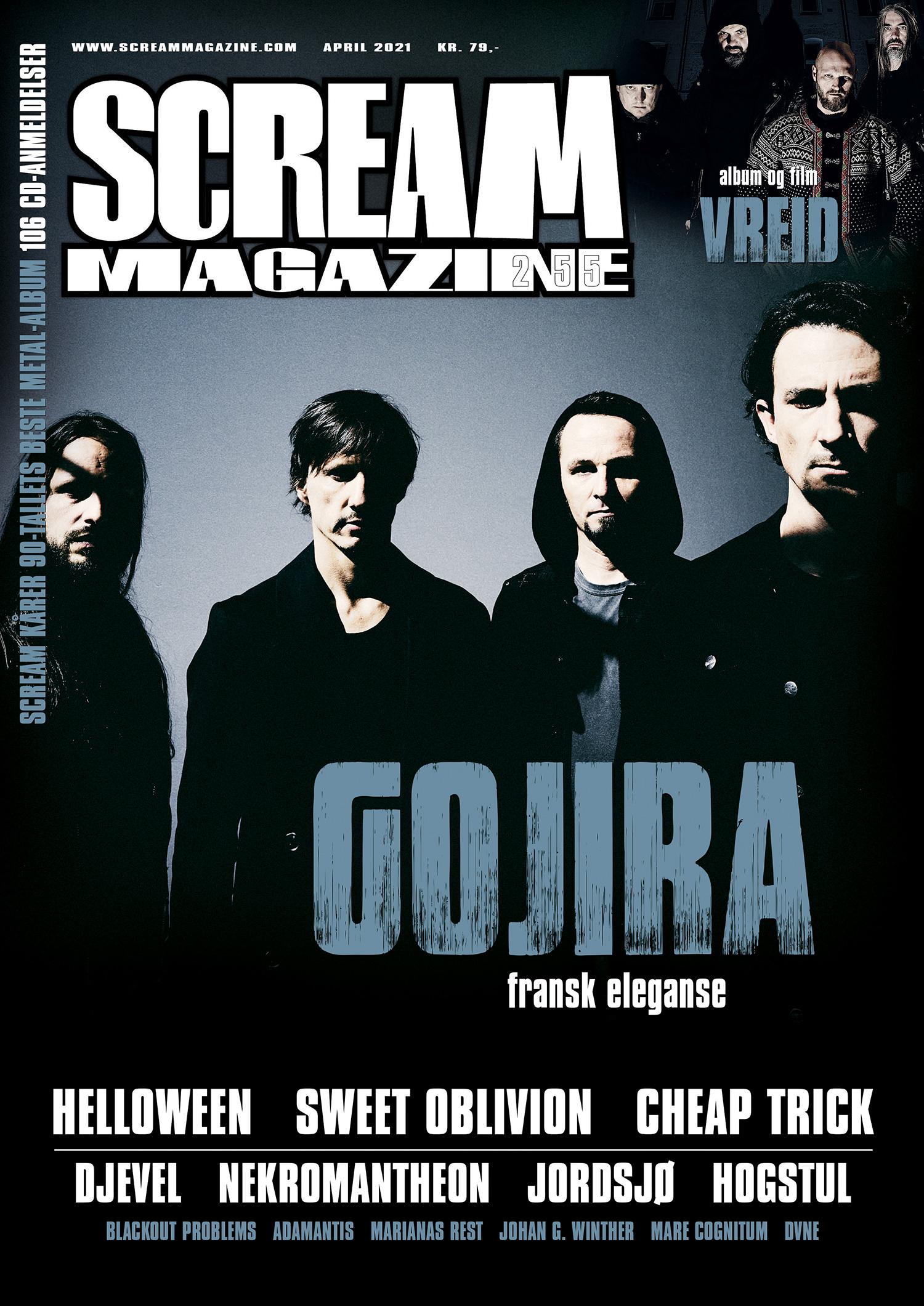 Scream Magazine #255
