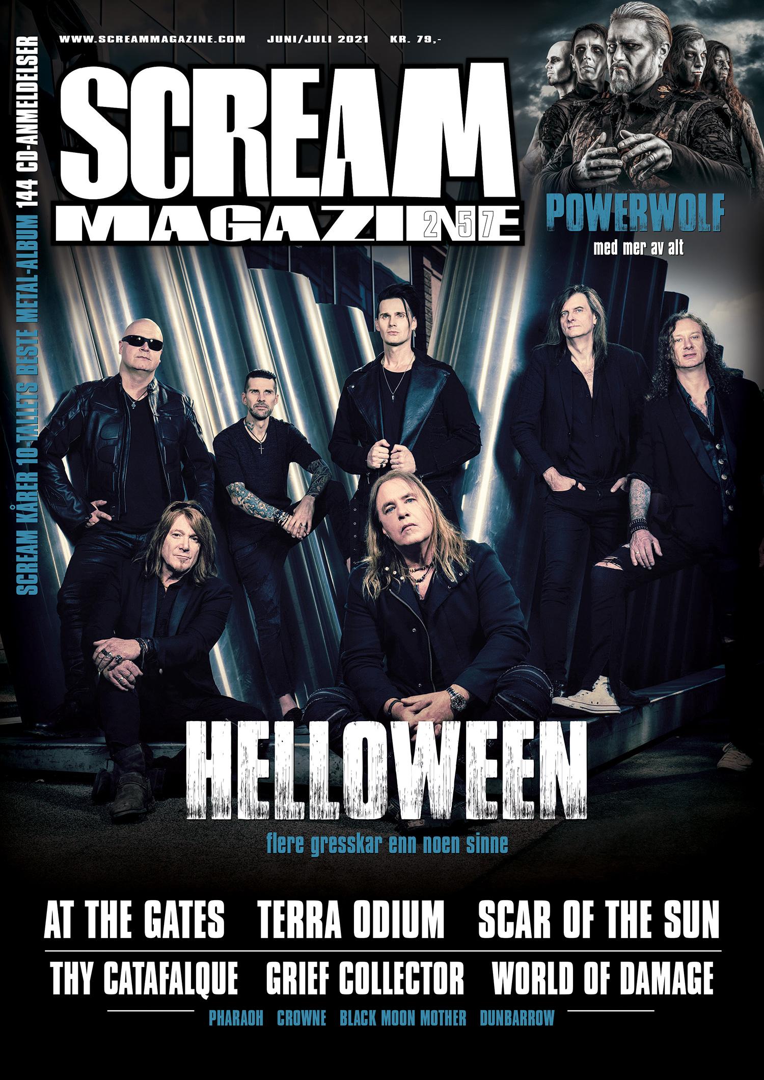 Scream Magazine #257