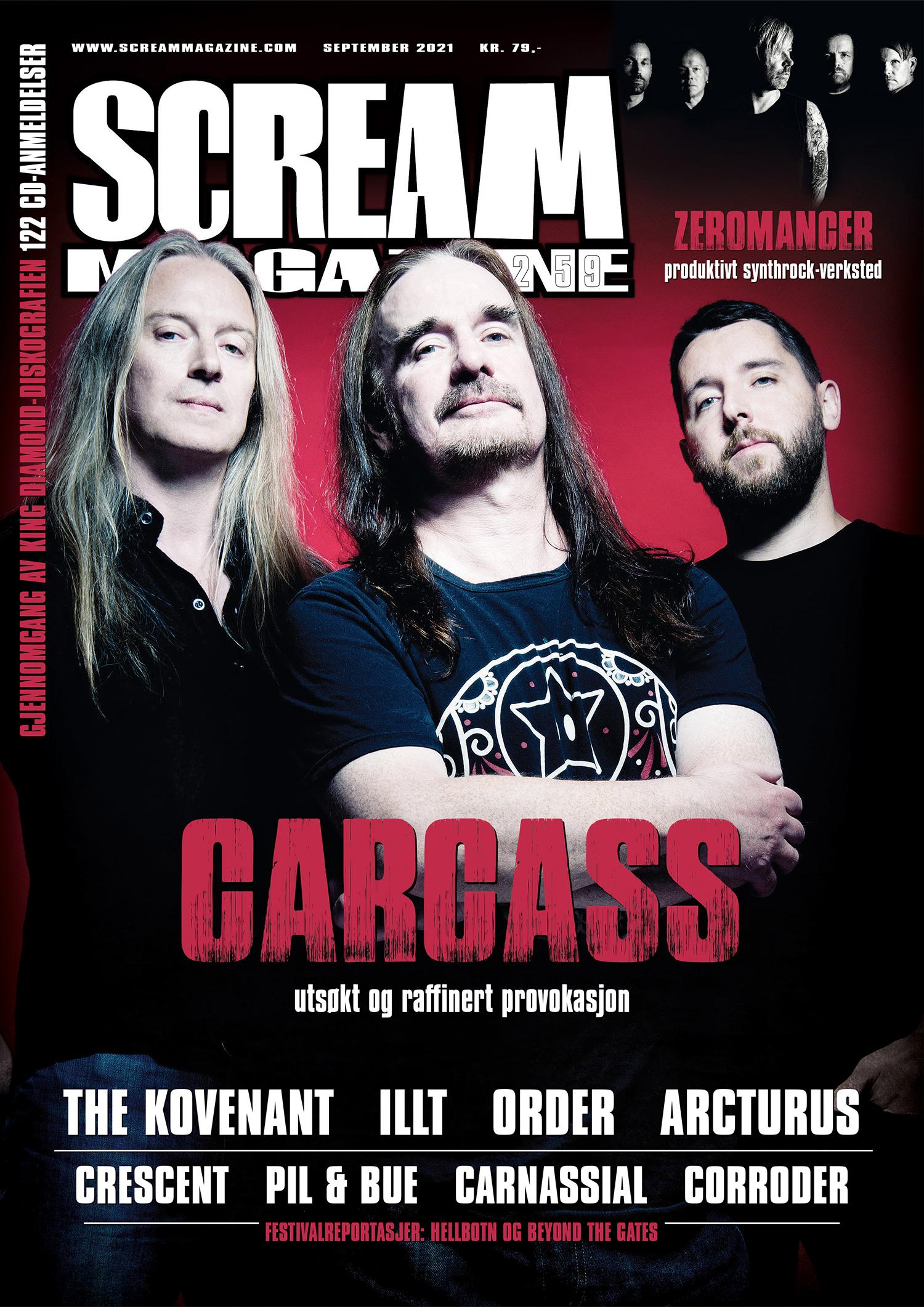 Scream Magazine nr 259